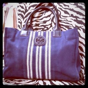 Canvas Tory Burch Tote